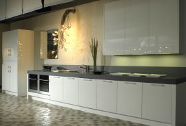 Lacquered Kitchens